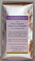 Pure Organic Cinnamon Powder